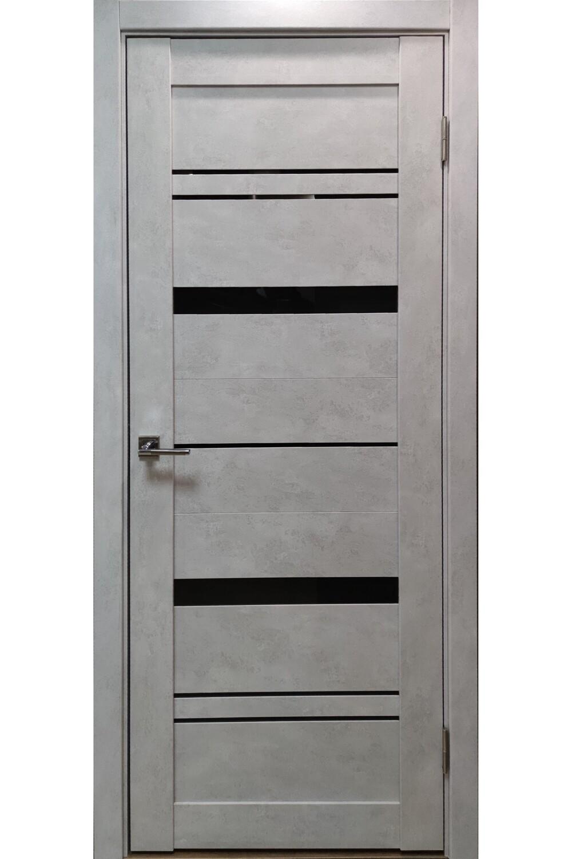 """Дверь эко-шпон """"LX3"""" (бетон снежный), Тольяттинская Фабрика Дверей"""