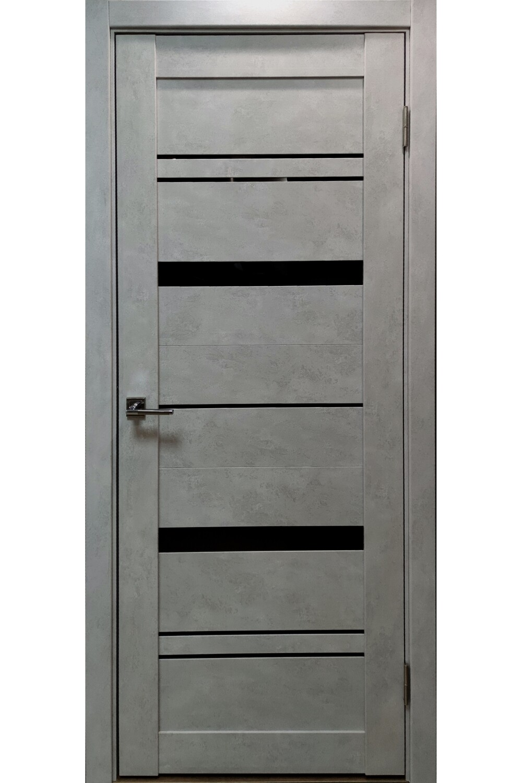 """Дверь эко-шпон """"LX3"""" (бетон серый), Тольяттинская Фабрика Дверей"""