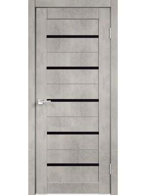"""Дверь """"PV-02"""" бетон, остекленная"""