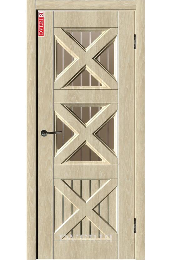 """Дверь """"Лофт 3"""" остекленная, ДвериЯ"""