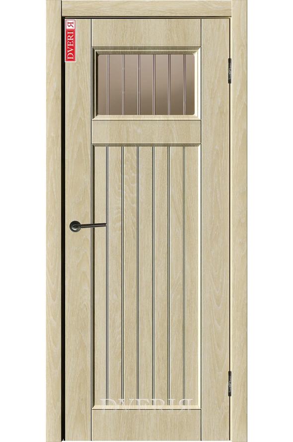 """Дверь """"Лофт 8"""" остекленная, ДвериЯ"""