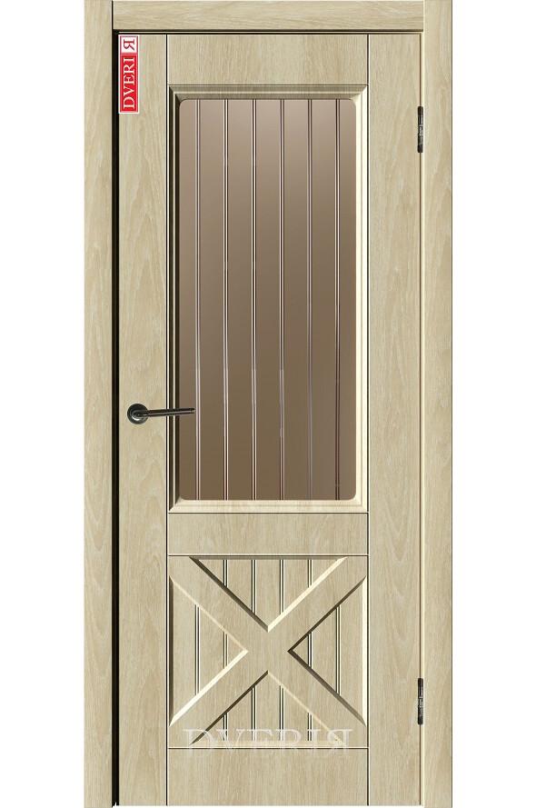 """Дверь """"Лофт 14"""" остекленная, ДвериЯ"""