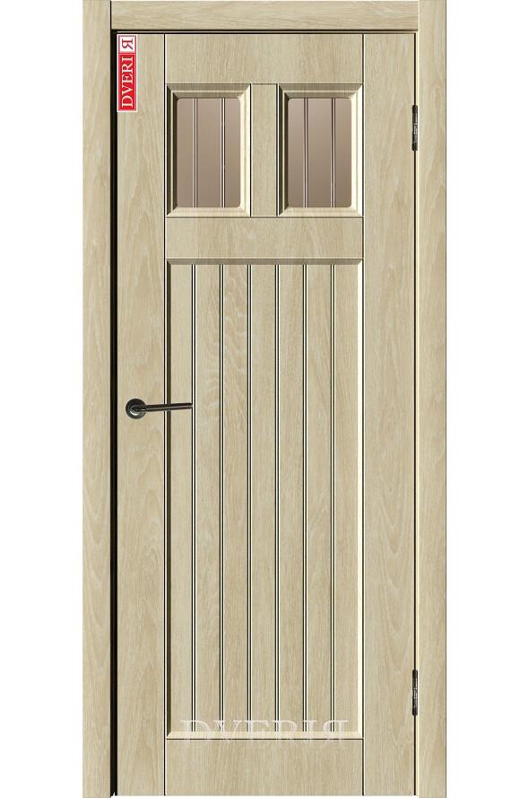 """Дверь """"Лофт 9"""" остекленная, ДвериЯ"""