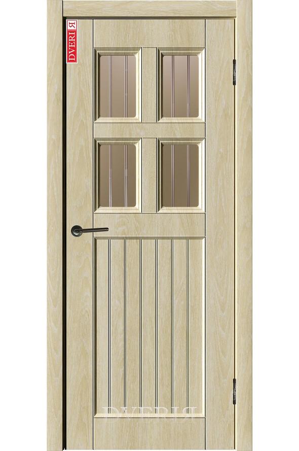 """Дверь """"Лофт 10"""" остекленная, ДвериЯ"""