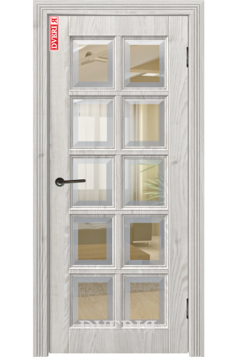 """Дверь """"Марсель 4D"""" остекленная, ДвериЯ"""