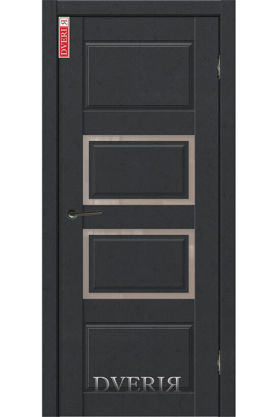 """Дверь """"Бьянко 12"""" остекленная, ДвериЯ"""