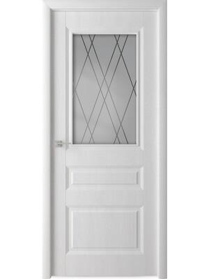 """Дверь скиновая """"КАСКАД"""" остекленная, ВДК"""