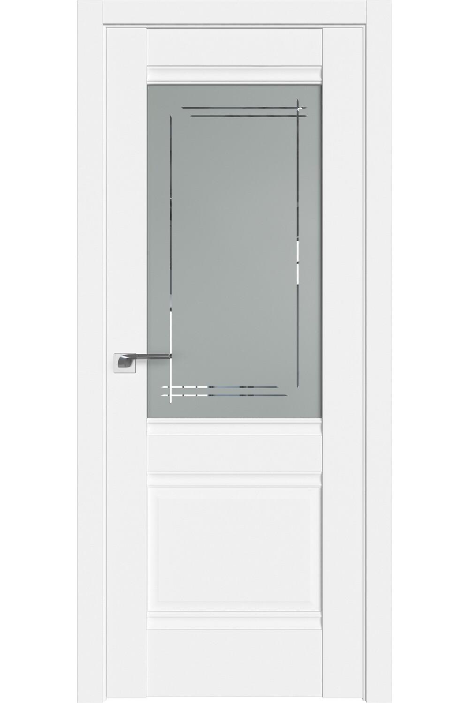 """Дверь экошпон """"241"""" полипропилен остекленная, Diford"""