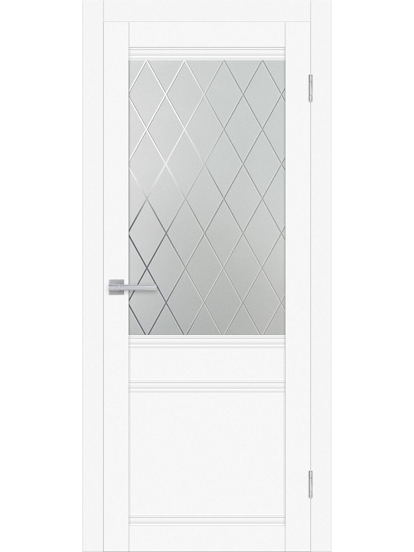 """Дверь эко-шпон """"Венеция"""", остекленная"""