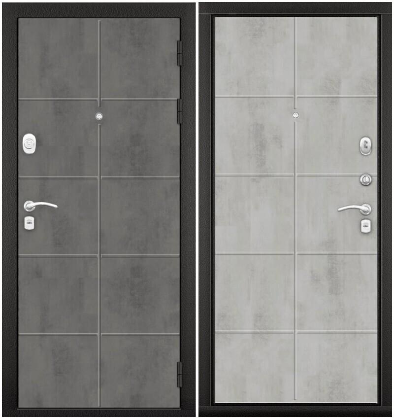 """Дверь МДФ/МДФ """"ЭКСКЛЮЗИВ Лофт №1"""" бетон, ТВОИ ДВЕРИ"""
