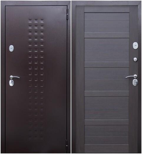 """Дверь входная """"ТЕРМА"""" медь, ВДК"""