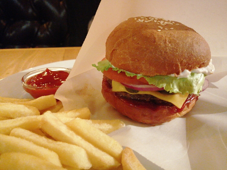 Нагебургер со свининой
