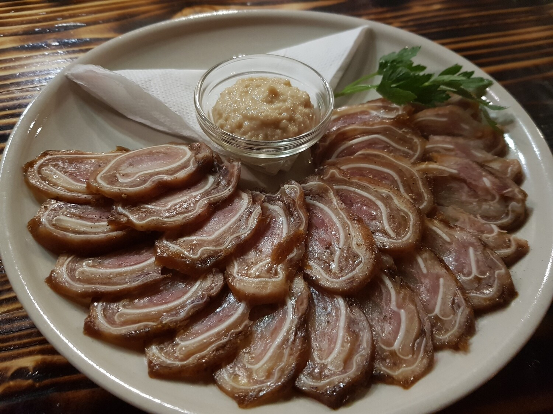 Свиные ушки в соевом соусе