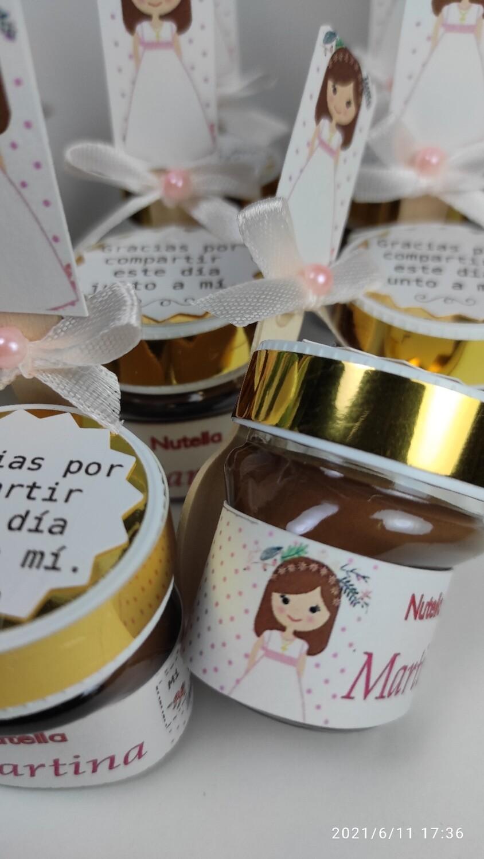 Nutella personalizada 25 Gr.