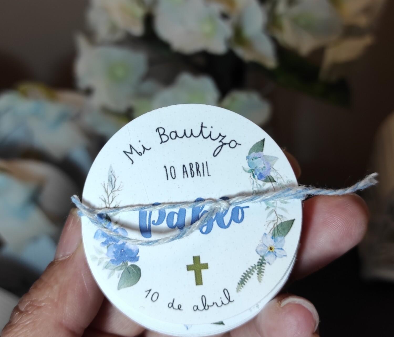 Etiquetas refondas para recuerdos y regalos
