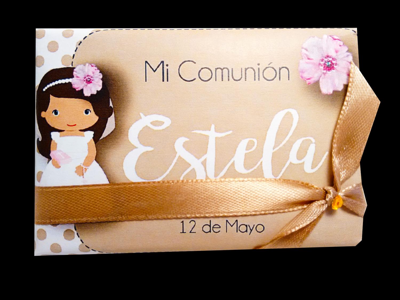 Chocolatinas COMUNIÓN,Personalizadas