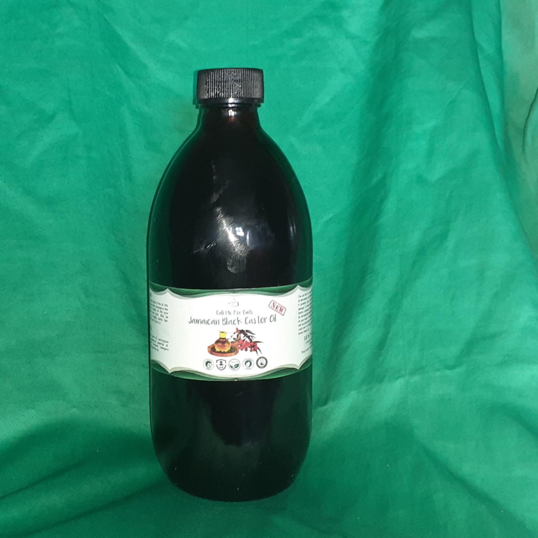 Jamaican Black Castor Oil with Lemongrass EO and Peppermint EO 500ml