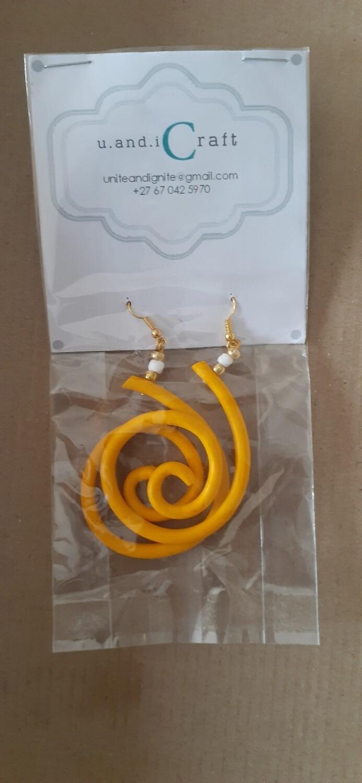 Swirls Yellow