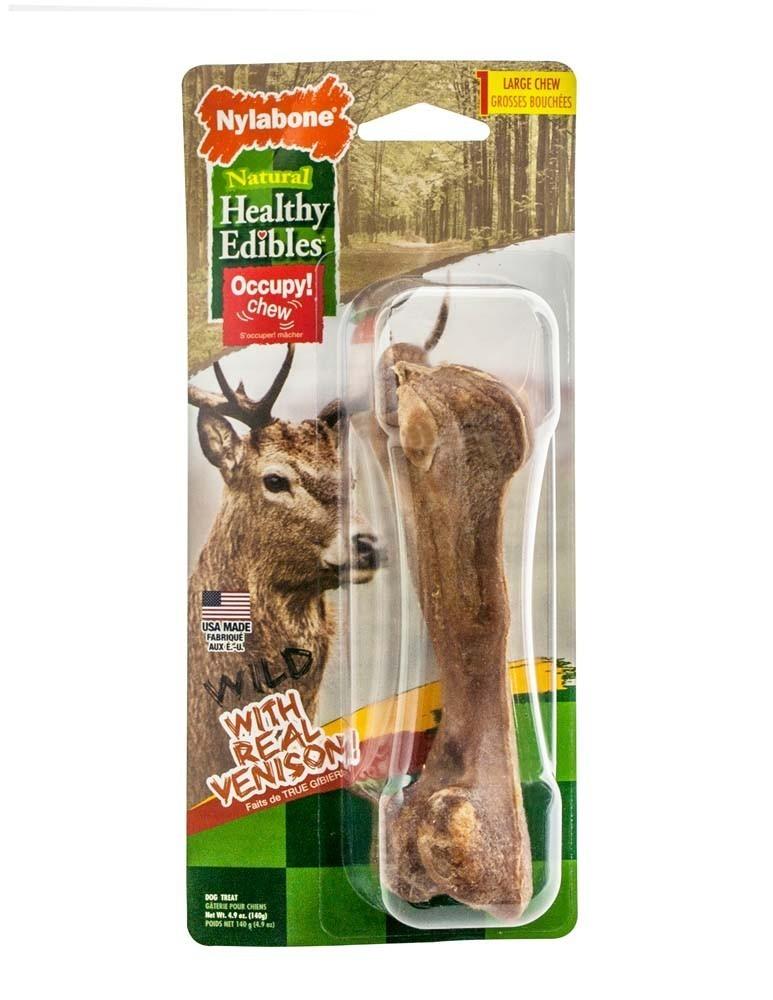 Healthy Edibles Wild Venison Bone Large