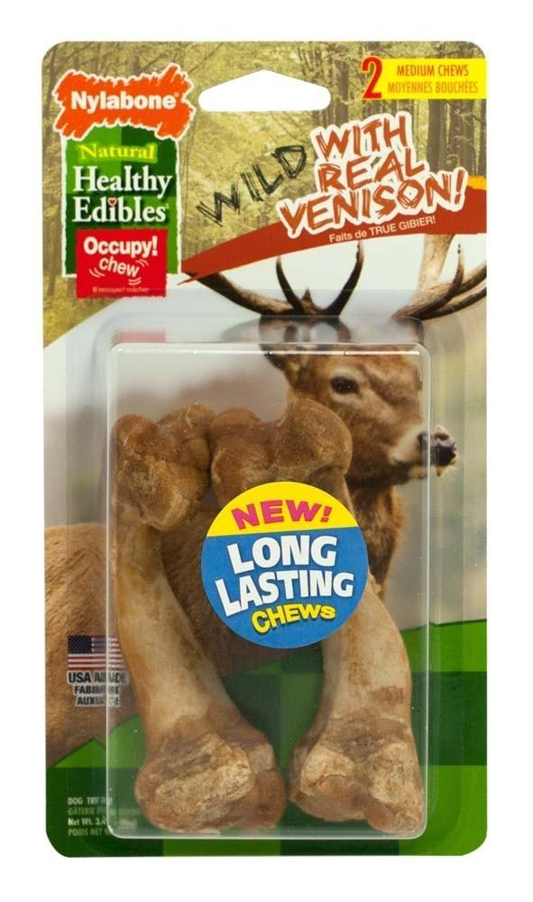 Healthy Edibles Wild Venison Bone Medium 2 count