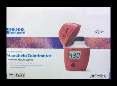 Saltwater Aquarium Calcium Colorimeter – Checker® HC