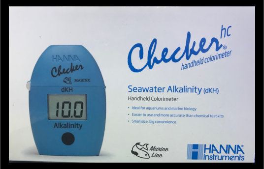 Saltwater Aquarium Alkalinity Colorimeter (ppm) – Checker® HC