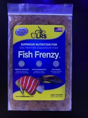 LRS Fish Frenzy (8oz frozen flatpack) IN STORE PICKUP