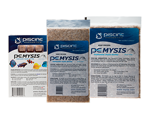 Piscine Energetics Frozen Mysis Shrimp IN STORE PICKUP