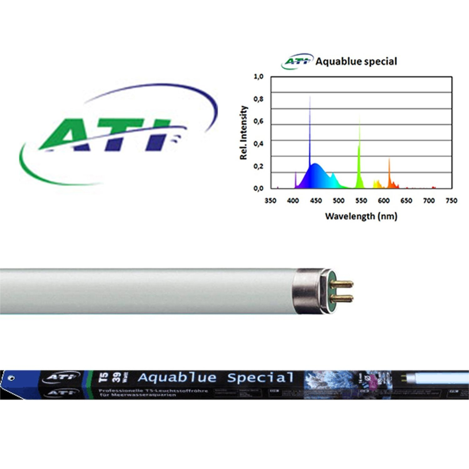 ATI T5 Bulbs Aquablue Special Starting at $20.95