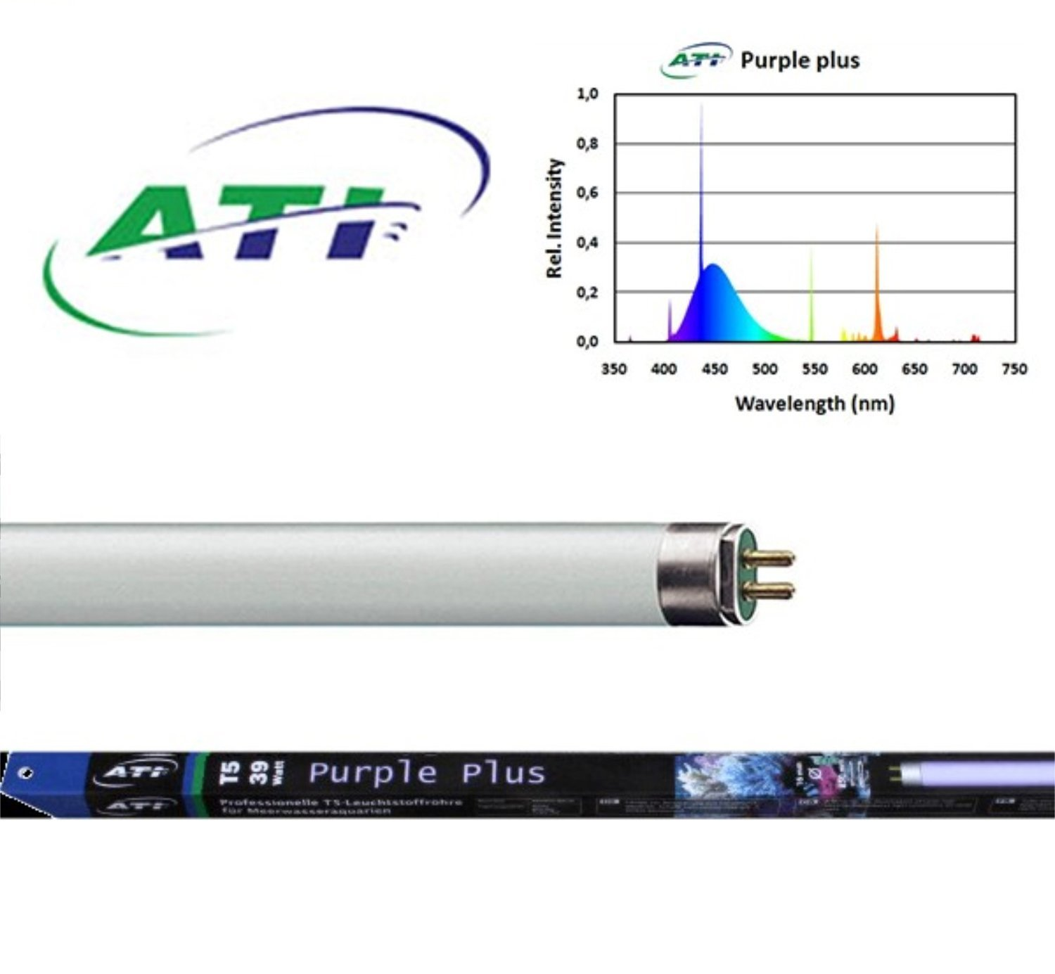 ATI T5 Bulbs Purple-Plus .... Starting at 19.95