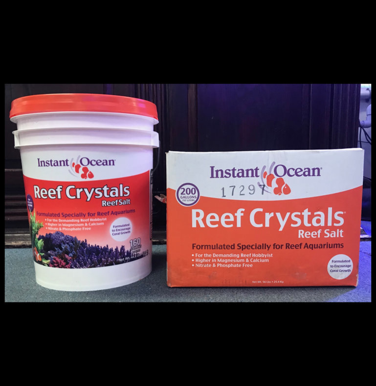 Reef Crystals Salt - IN STORE PICKUP