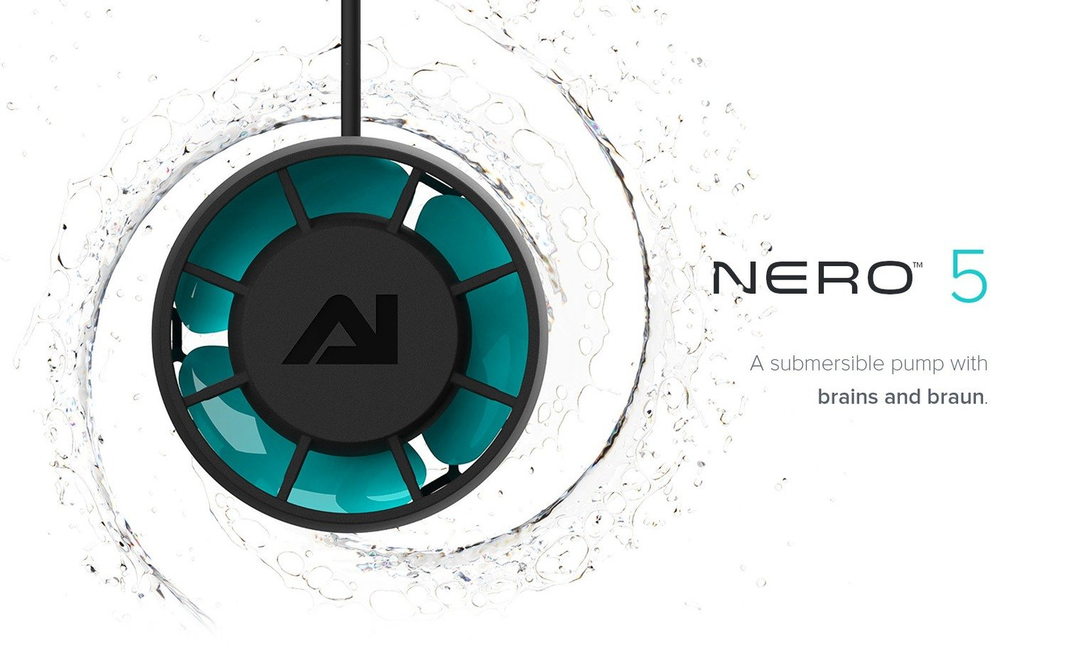 Nero 5 Powerhead (3000 GPH) by AquaIlluminations