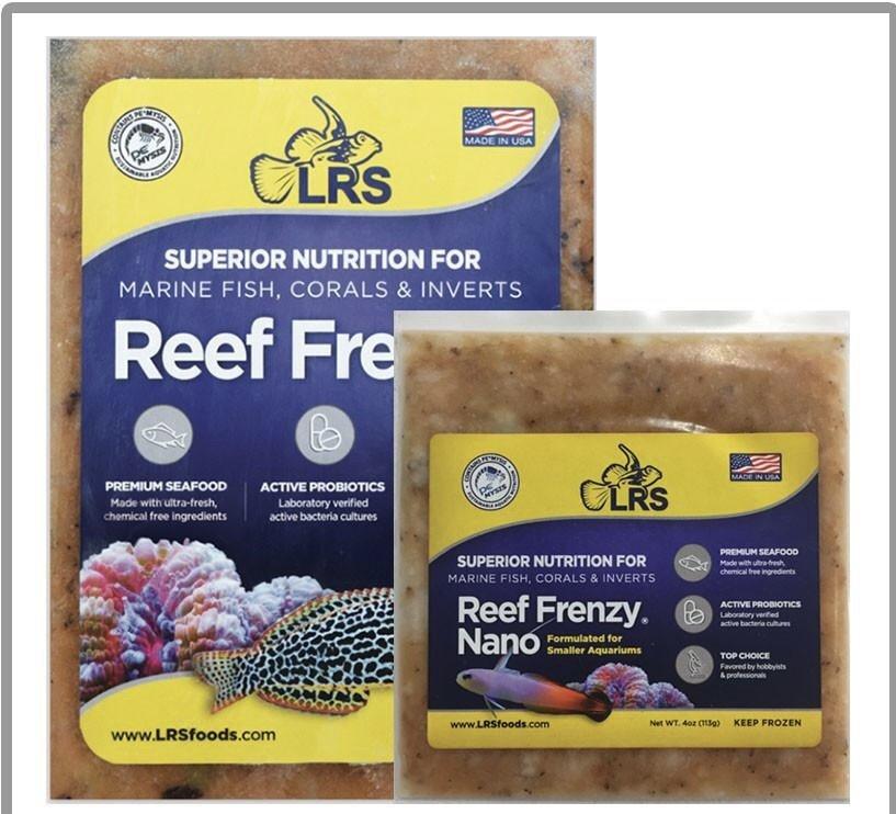 Reef Frenzy® (8oz frozen flatpack ) IN STORE PICKUP