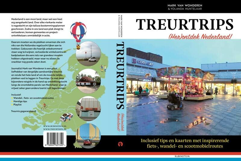 Treurtrips: (Her)ontdek Nederland! | Mark van Wonderen (gesigneerd exemplaar)