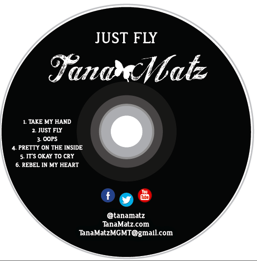 "Autographed Copy of ""Just Fly EP"""