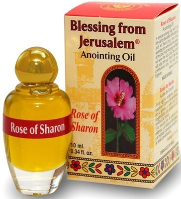 (Rose of Sharon) Biblically Inspired Jerusalem Anointing oil - 10 ml.