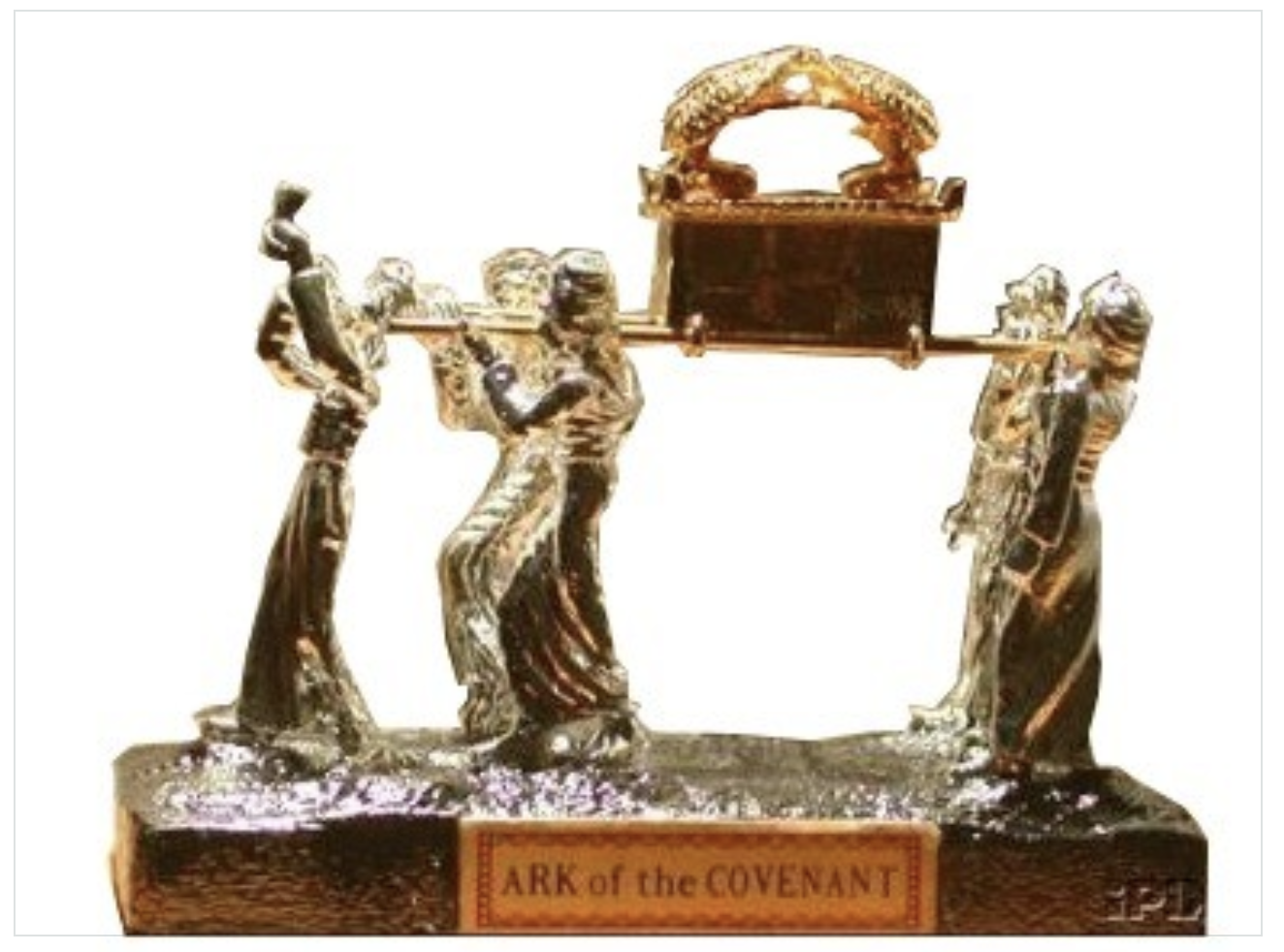 Ark of the Covenant Silver-Plated