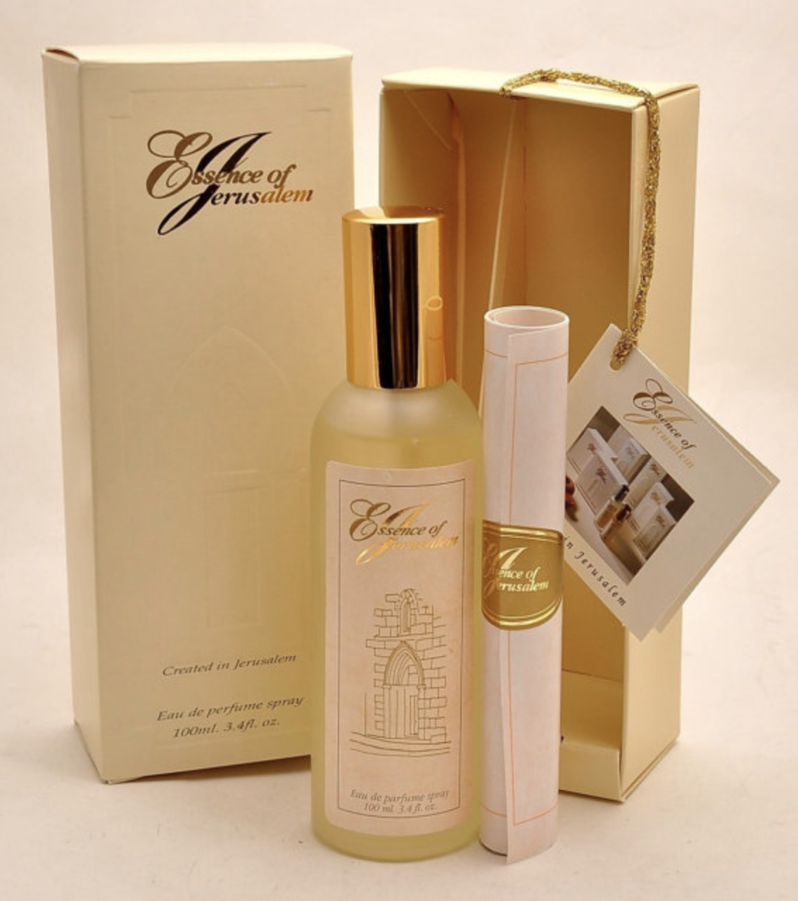 Essence Of Jerusalem Eau De Parfum 100 ml. Spray ( 3.4 Oz ) Woman Perfume.