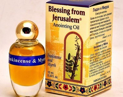(Frankincense and Myrrh) Biblically Inspired Jerusalem Anointing oil - 10 ml.
