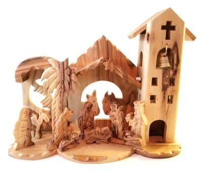 Holy Land Olive Wood Nativity