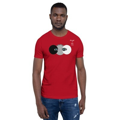 Red Eye Gray Area Unisex T-Shirt (From the Mind of Marcus Gray