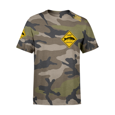 Carpcrossing Classic Camo T-shirt