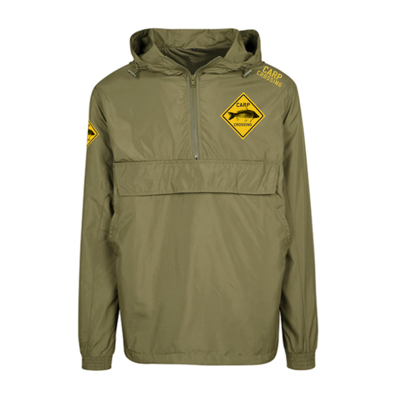 Carpcrossing Classic fishing Jacket Green