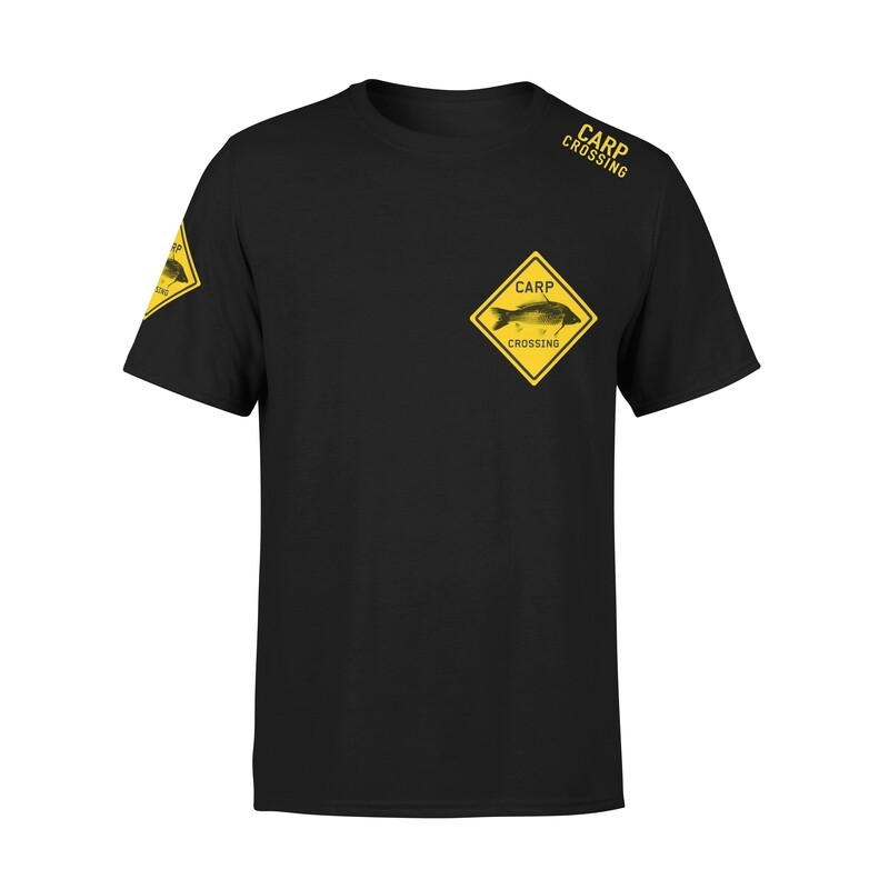 Carpcrossing Classic Carp T-shirt Black