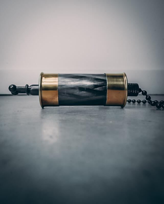 Gold Diamond Carbon Shotgun Bobbins