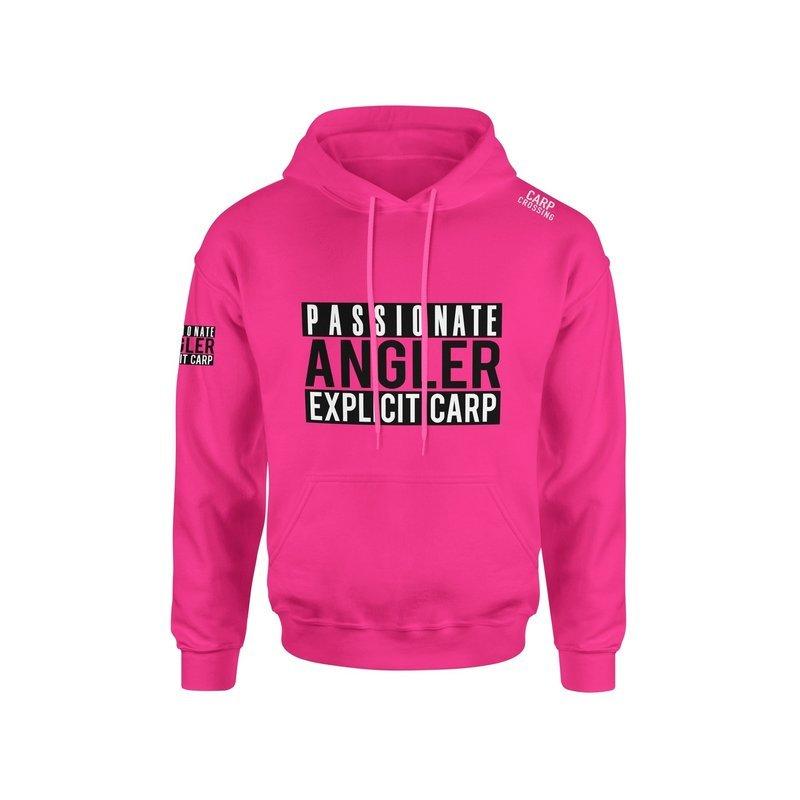 Carpcrossing Explicit Carp Hoodie Pink