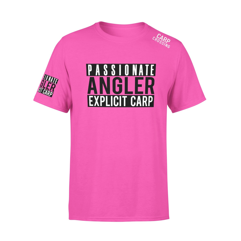 Carpcrossing Explicit Carp T-Shirt Pink