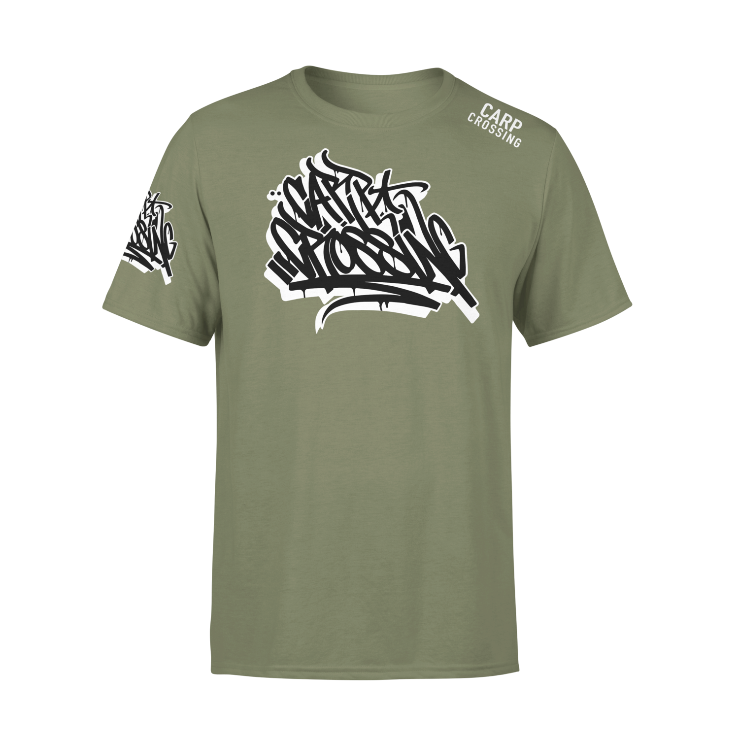 Carpcrossing Urban Carp T-Shirt Green