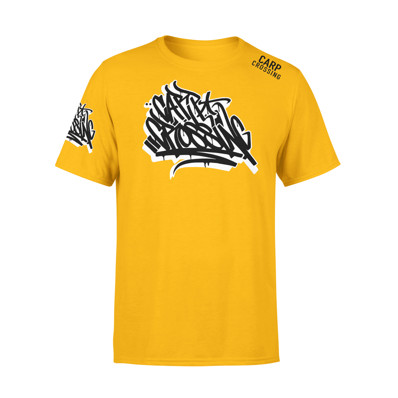 Carpcrossing Urban Carp T-Shirt Yellow