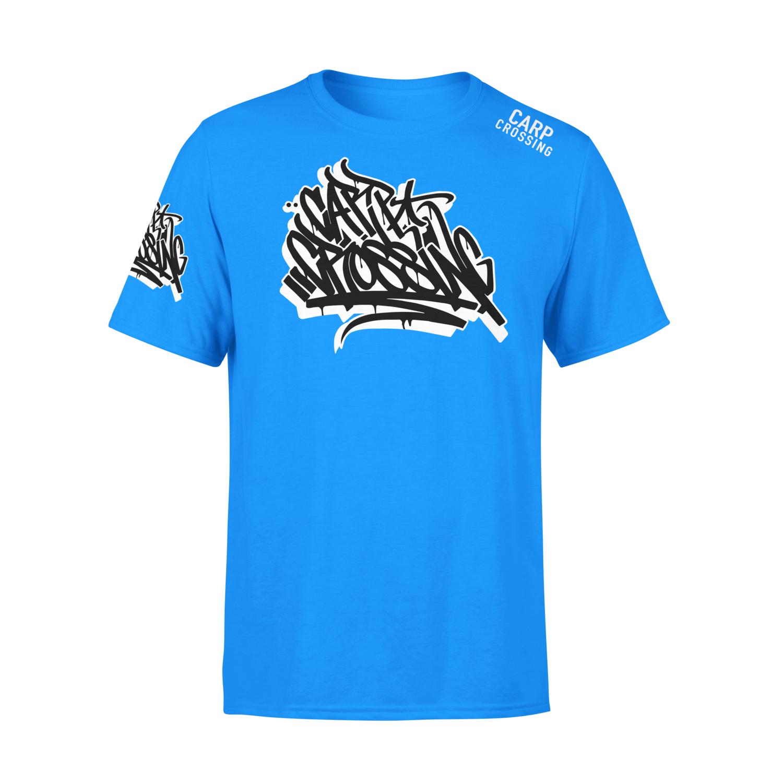 Carpcrossing Urban Carp T-Shirt Blue